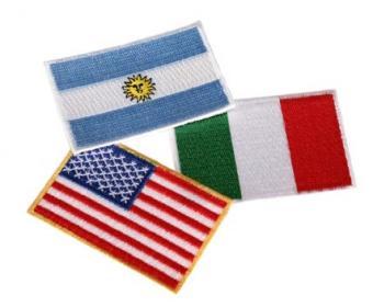 Bandiere ricamate